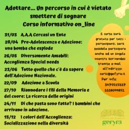 Date Corso Online Adozione